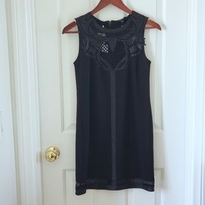 NWT Buffalo David Bitton Boho Shift Black Dress XS